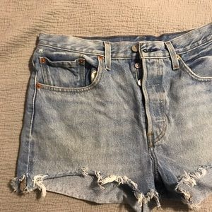 Levi's Shorts - Levi's 501 Shorts with button down fly!